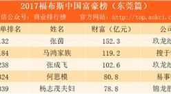 2017东莞富豪排行榜:玖龙纸业张茵排名第一(附榜单)