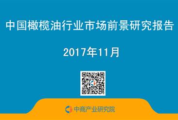 2017年中国橄榄油行业市场前景研究报告(简版)
