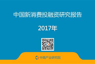 2017年中国新消费投融资研究报告(全文)