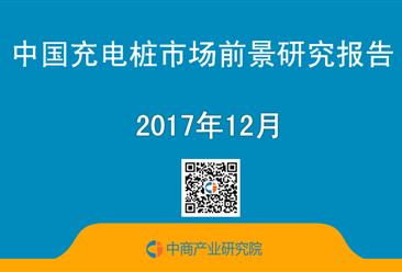 2017年中国充电桩市场前景研究报告(简版)