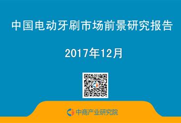 2017年中国电动牙刷市场前景研究报告(简版)