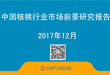 2017年中國核桃行業市場前景研究報告(簡版)