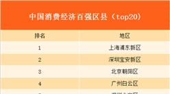 2017年中国消费经济百强排行榜出炉:上海浦东消费经济最活跃!