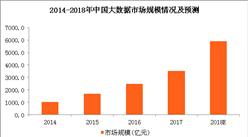 政策利好大数据行业发展 2018年大数据市场规模将近6000亿