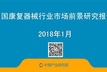 2018年中国康复器械行业市场前景研究报告(简版)