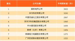 2017年中国发明专利数据分析:国家电网发明专利授权量第一(图)