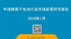 2018年中國鋰離子電池行業市場前景研究報告(簡版)