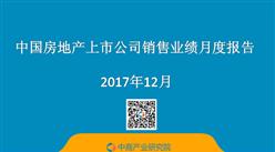 2017年1-12月中国房地产行业经济运行月度报告(完整版)