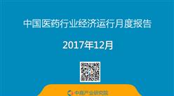 2017年1-12月中国医药行业经济运行月度报告(完整版)