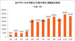 2017年华晨宝马销量分析:全年轿车销量增长15.67% (附图表)