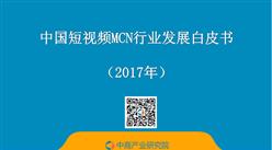 2017年中国短视频MCN行业发展白皮书(全文)
