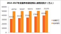 2017年全国社保参保人数统计情况:医保覆盖人数突破11亿(附图表)