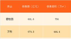 2018年1月碧桂园销售简报:销售额691.6亿 远超万科恒大(附图表)