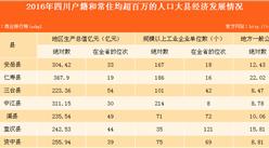 四川省百万人口大县县城发展情况分析:城镇基础设施改善显著(表)