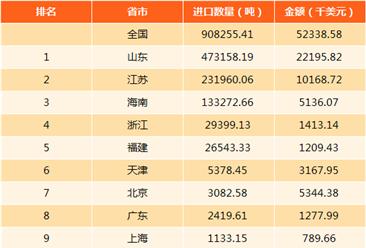 2017年中國水凝水泥進出口數據分析(附圖表)
