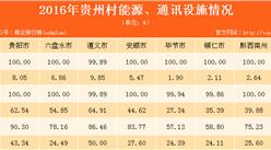 贵州农村基础设施建设及基本社会服务情况分析(表)