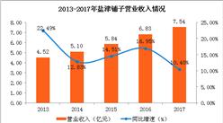盐津铺子2017年实现净利6652.08万元 同比下降22.34%
