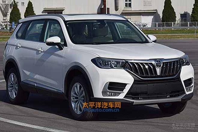 中华V7定位中型SUV 搭1.6T引擎 6MT/7DSG
