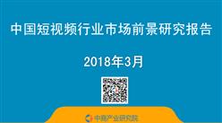 2018年中国短视频行业市场前景研究报告(简版)