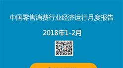 2018年1-2月中国零售消费行业经济运行月度报告(附全文)