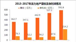 2017年富力地产年报:净利润同比增长204% 未来将调整城市销售重心(附图表)