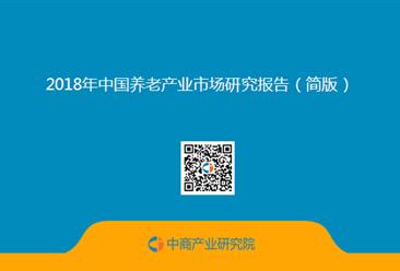 2018年中国养老产业市场研究报告(简版)