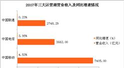 2017年三大运营商业绩大PK:中国移动更胜一筹!(附图表)
