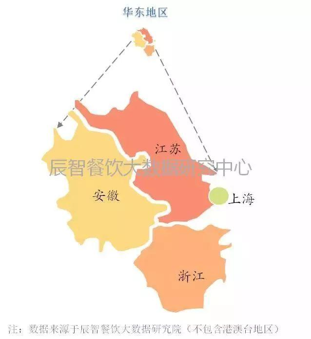 那么,作为在餐饮行业中发展较为发达的华东区域以及餐饮发展大省江苏