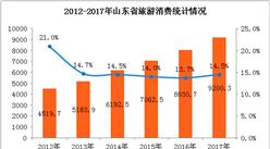 2017年山东省全域旅游高效发展   旅游消费总额突破9000亿(附图表)