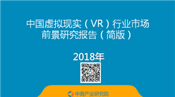 2018年中国虚拟现实(VR)行业市场前景研究报告(简版)