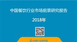 2018年中国餐饮行业市场前景研究报告(附全文)