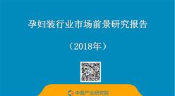 2018年中国孕妇装行业市场前景研究报告(简版)