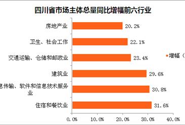 2018年四川省市场主体情况分析:市场主体突破500万户(图)