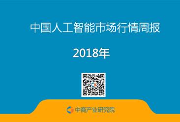 2018年4月人工智能行业周报:人工智能板块上涨0.28%(4.09-4.13)