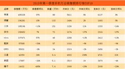2018年第一季度天猫手机行业销售额排行榜TOP10:苹果销售额近50亿元(附榜单)