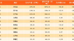 2018年一季度中国各地区十种有色金属产量排行榜:河北省产量第一(附榜单)