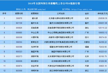 2018年北京高考作文:绿水青山图 2018年环保行业哪家公司最挣钱?(附榜单)