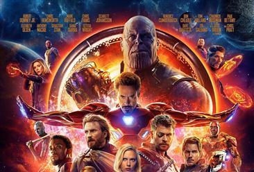 2018年5月北美电影周末票房排行榜:《复仇者联盟3》票房第一(5.4-5.6)