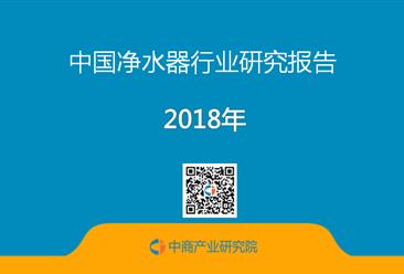 2018年中国净水器行业研究报告(全文)