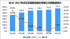 2017年中国连锁百强:武汉武商集团股份有限公司经营数据分析(附图表)