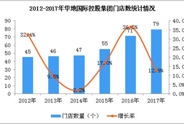 2017年华地国际控股集团经营数据统计分析
