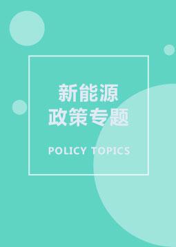新能源政策专题