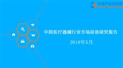 2018年中国医疗器械行业市场前景研究报告(附全文)