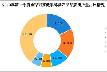 2018年第一季度全球可穿戴手環類數據分析:出貨量超2000萬件(附圖表)