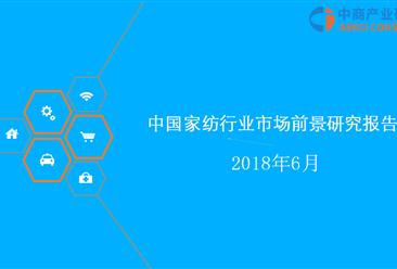 2018年中国家纺行业市场前景研究报告(附全文)
