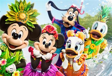 2017年全球主题公园集团游客数量排行榜:迪士尼集团高居榜首(TOP10)