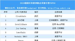 2018胡润区块链创新企业排行榜TOP50:小米上榜(附榜单)