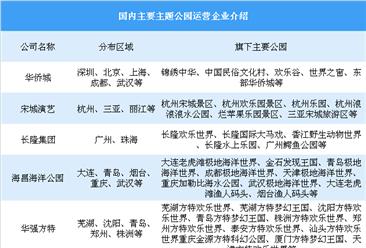 女童在迪士尼撞灯柱缝两针 中国主要主题公园运营企业介绍(附名单)
