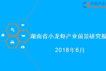 2018年湖南省小龙虾产业前景研究报告(附全文)