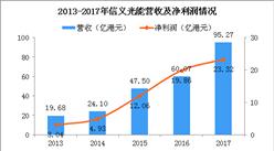 2017年信义光能经营数据统计分析(附图表)